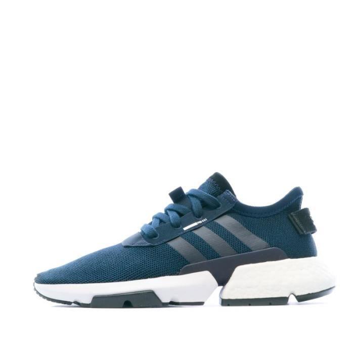 Baskets bleu marine homme Adidas POD-S3.1 Bleu - Cdiscount Chaussures