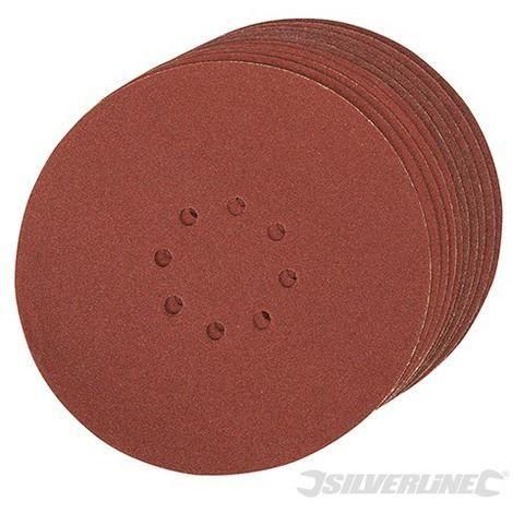 5-200 Pièces Velcro-Meules ø125 mm ø125mm avec 8 trous grain 40-220
