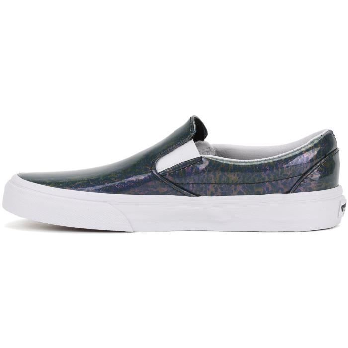 Vans Classic Slip-on Patent Leopard Shoes XM9I0 Taille-36 1-2