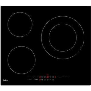 PLAQUE INDUCTION Amica - plaque de cuisson à induction 60cm 3 feux