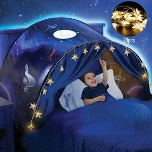 TENTE DE LIT SMRT Dream Tents - Hot Kids Pop Up Tente de Lit -