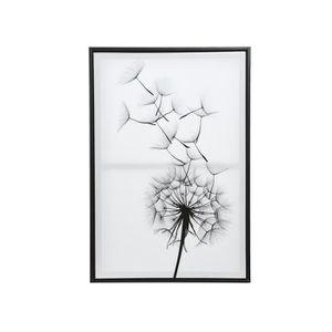 TABLEAU - TOILE Tableau satiné Fleur de Pissenlit - Nos Envies Déc