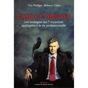 Game Of Thrones Livre