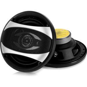 HAUT-PARLEUR DEUX ROUES auna CS-65831 - Paire de haut-parleurs auto, encei