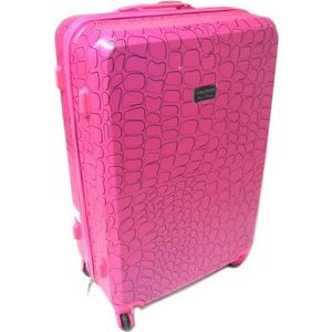 VALISE - BAGAGE Valise trolley ABS 'Lollipops' rose - 70x47x29 cm