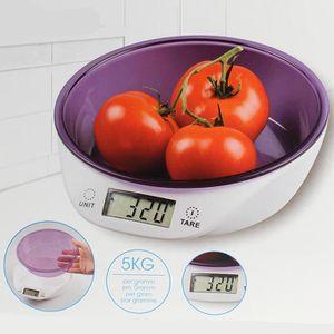 BALANCE ÉLECTRONIQUE Balance numérique de cuisine avec bol doseur