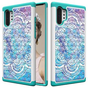 COQUE - BUMPER Coque Samsung Galaxy Note 10 Plus,Mandala Diamant
