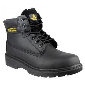 Amblers Safety Homme FS62 En Cuir Imperméable Chaussures De Sécurité Noir
