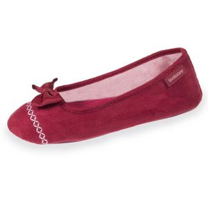 CHAUSSON - PANTOUFLE Chaussons ballerines femme broderies