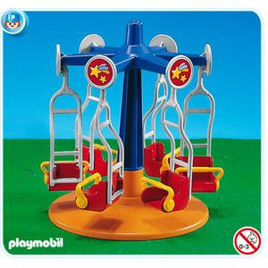 UNIVERS MINIATURE PLAYMOBIL 7859 - Manège pour enfants