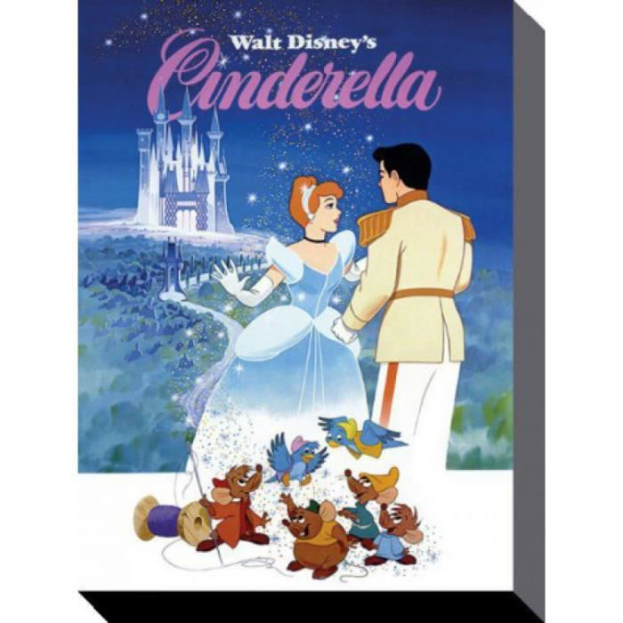cendrillon poster reproduction sur toile tendue sur ch ssis and friends walt disney 40 x 30. Black Bedroom Furniture Sets. Home Design Ideas