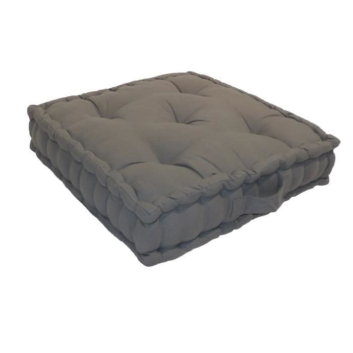 grand coussin de sol achat vente grand coussin de sol pas cher cdiscount. Black Bedroom Furniture Sets. Home Design Ideas