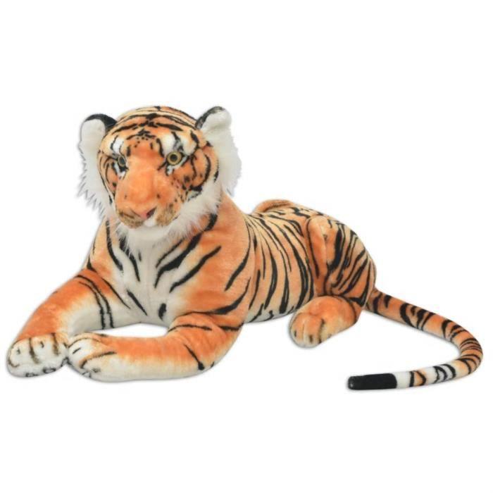 HENGL Tigre en peluche Marron XXL