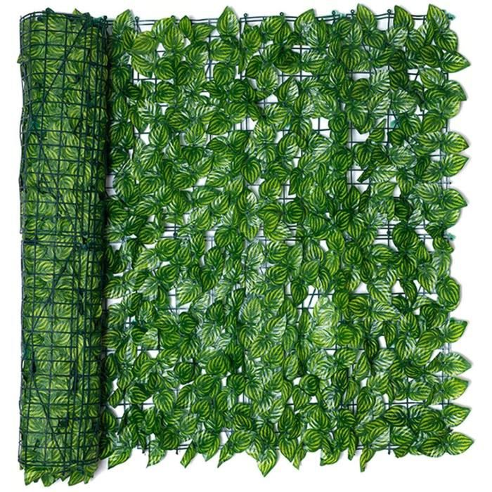 Artificielle lierre aniceday Plantes De Haie Artificielle Balcon Couverture De Confidentialit&eacute Feuille Artificielle Verte 598