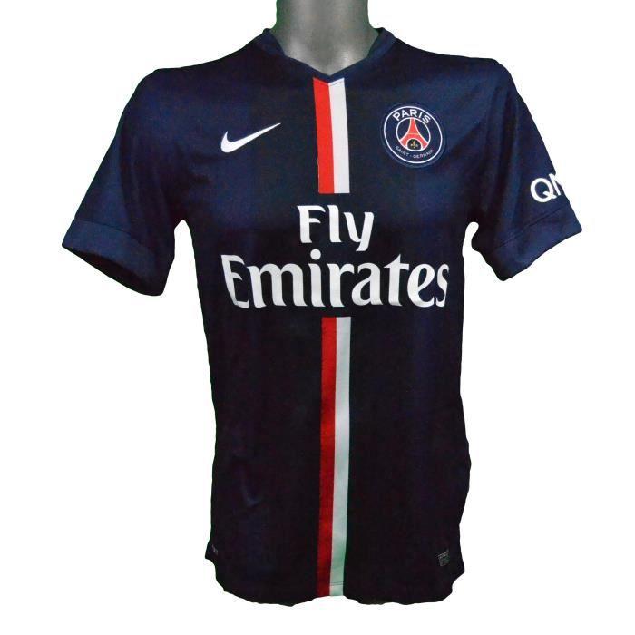 Maillot domicile PSG 2014/2015 Cavani L1