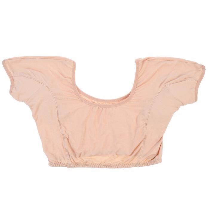 1pc Sweat Pads Vest Vêtements Accessoires Absorbant Gilet pour femme Été top de sudation - veste de sudation textile technique