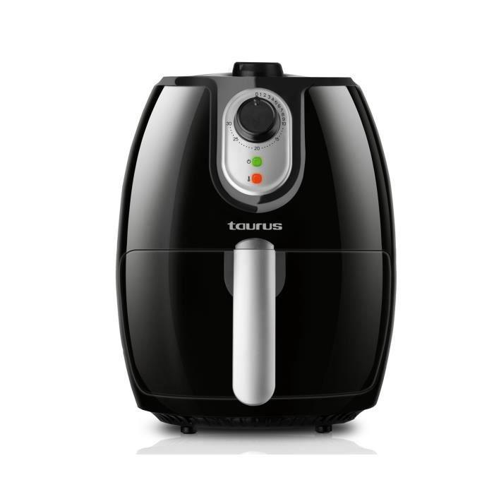 Taurus Professional Air, Hot air fryer, 2,3 L, 200 °C, 30 min, Unique, Noir, Argent