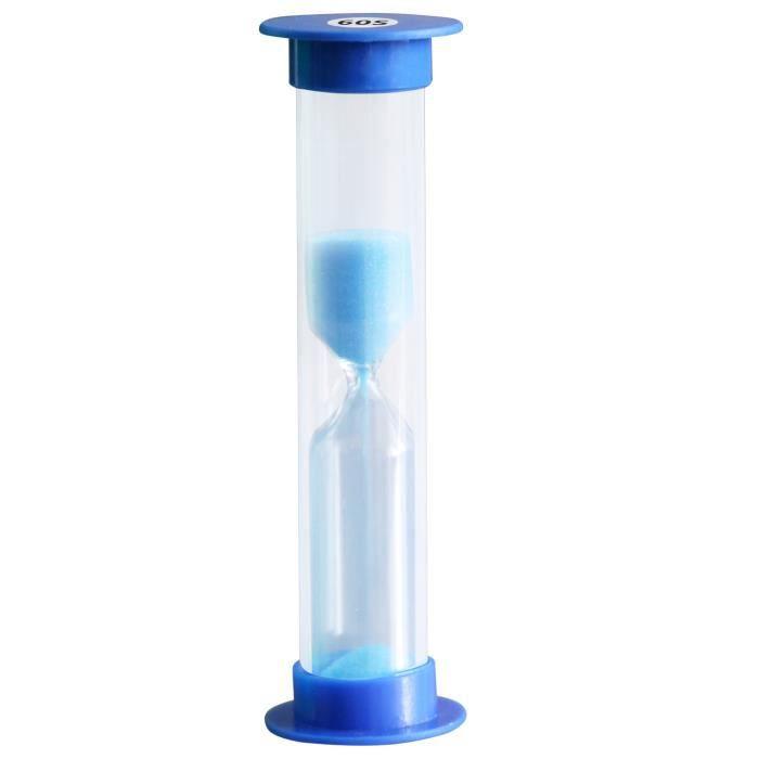 TRIXES Sablier Bleu 60 Secondes Minuterie pour Oeuf Brossage des Dents