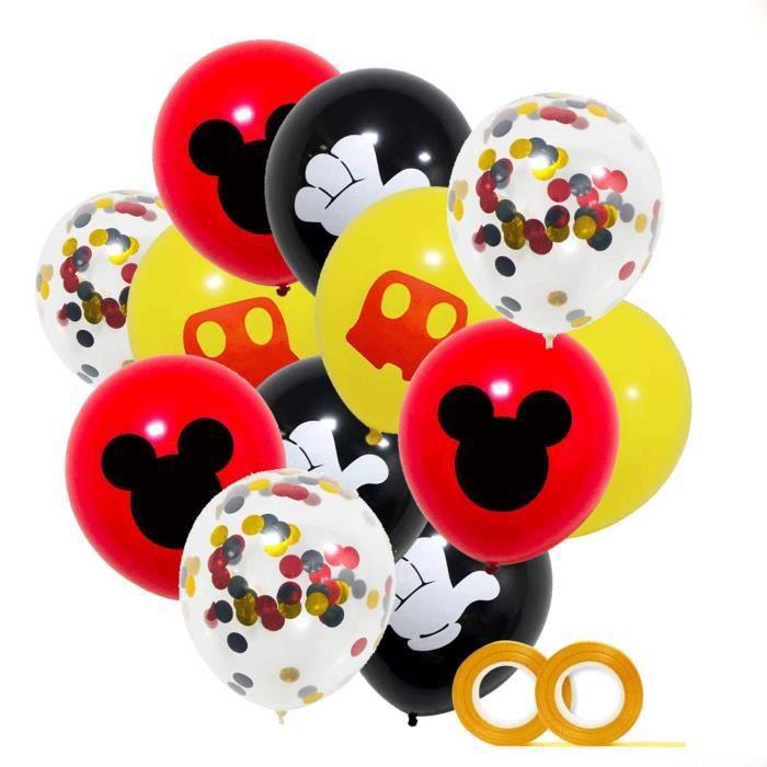 10 Lots dans le pack en couleurs vives Chaînes ballons pour une chaîne ballon