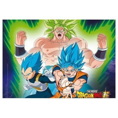 Tapis De Souris Dragon Ball Z Broly Vs Goku Vegeta Abystyle Prix Pas Cher Cdiscount