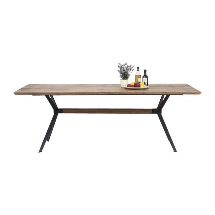 TABLE À MANGER SEULE Table Downtown 220x100cm Kare Design
