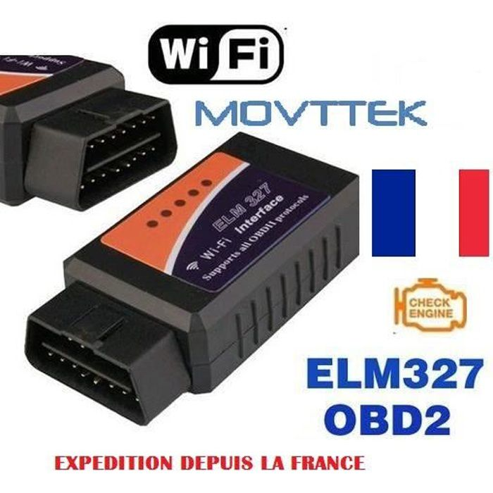 movttek outil diagnostic scanner elm327 obd2 wifi achat vente outil de diagnostic movttek. Black Bedroom Furniture Sets. Home Design Ideas