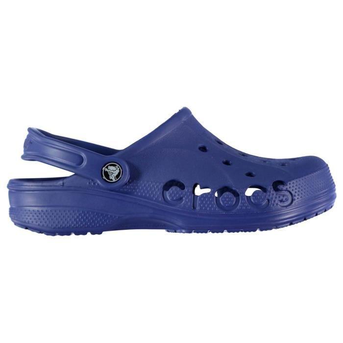 on feet shots of popular brand buying now Crocs Baya Sabots Sangle de talon amovible Enfant