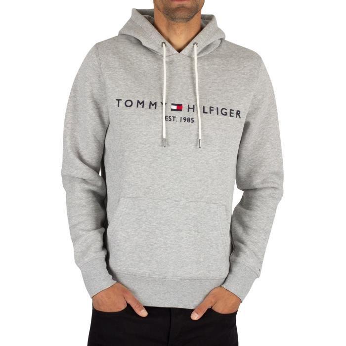 Tommy Hilfiger Homme Sweat à capuche à logo,