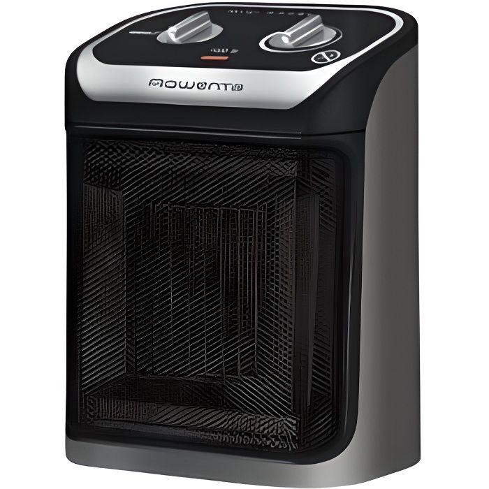 Ceramique Chauffage dappoint avec Thermostat Ventilation Chaud Froid Ventilateur Professionnel 2S Chauffage Soufflant Rapide pour pi/èce 4-18㎡Mobile /Électrique 1800 W Mini Radiateur Soufflant