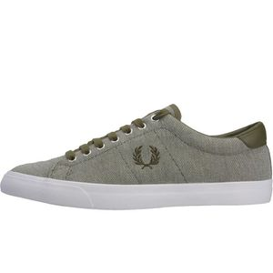 Fred Perry Byron Low Hommes Baskets Moutarde - 9 UK h1Yy4C3