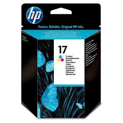 Hp 17 cartouche d'encre trois couleurs authentique pour Hp Deskjet 816C/825C/840 (C6625a)