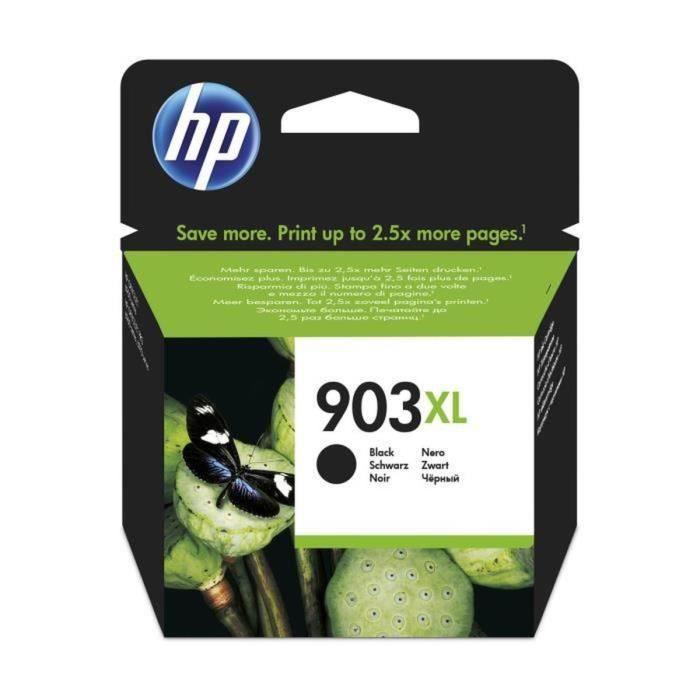 HP 903XL cartouche d'encre noire grande capacité authentique pour HP OfficeJet Pro 6950/6960/6970 (T6M15AE)
