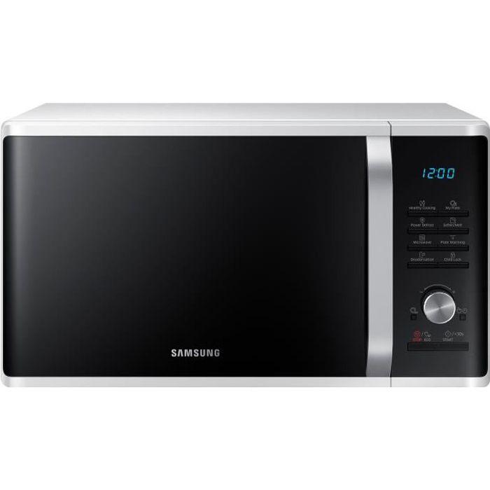 SAMSUNG MS28J5215AW Micro-ondes monofonction - 28 L - 1000 W - Blanc - Pose libre