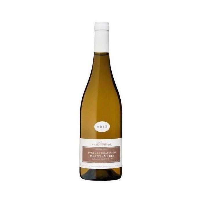 Domaine Vincent Prunier La Chatenière 2015 Saint Aubin 1er Cru - Vin blanc de Bourgogne