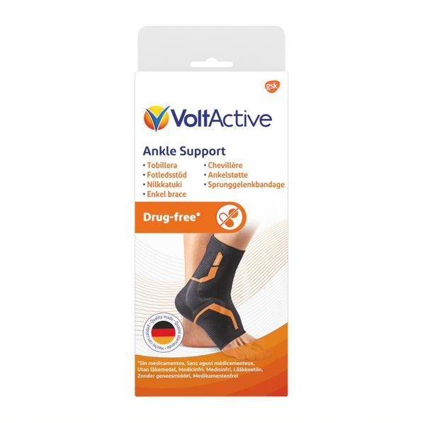 Chevillère gauche VoltActive : soulage la douleur à la cheville lors de vos activités quotidiennes et sportives - 100 ans d'experti