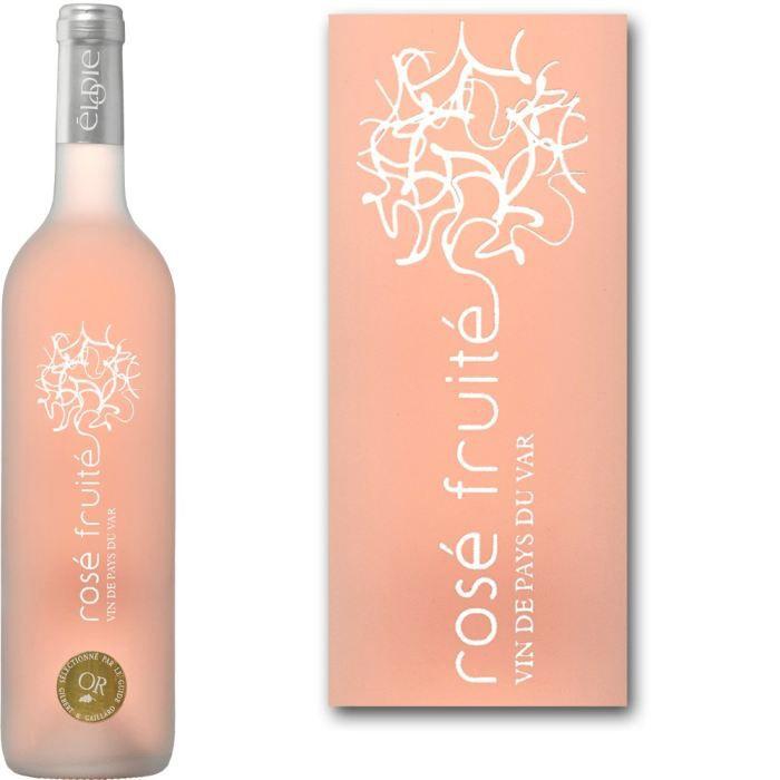 Rosé Fruité IGP Var - Vin rosé de Provence