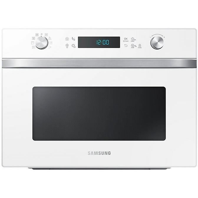 SAMSUNG MC35J8055CW/EF Micro-ondes grill blanc - 35 L - 1550 W - 2300 W double grill - Pose libre