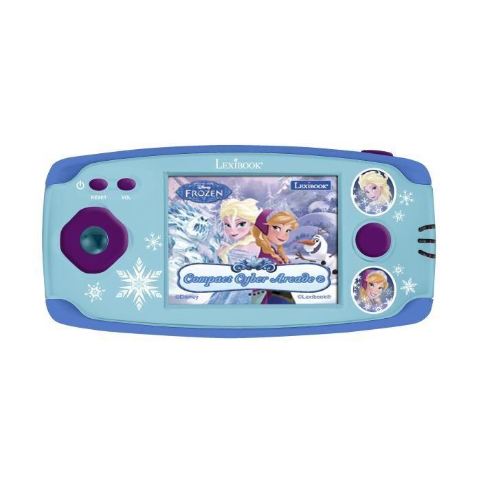 LA REINE DES NEIGES Console de jeux portable enfant LEXIBOOK - 150 jeux