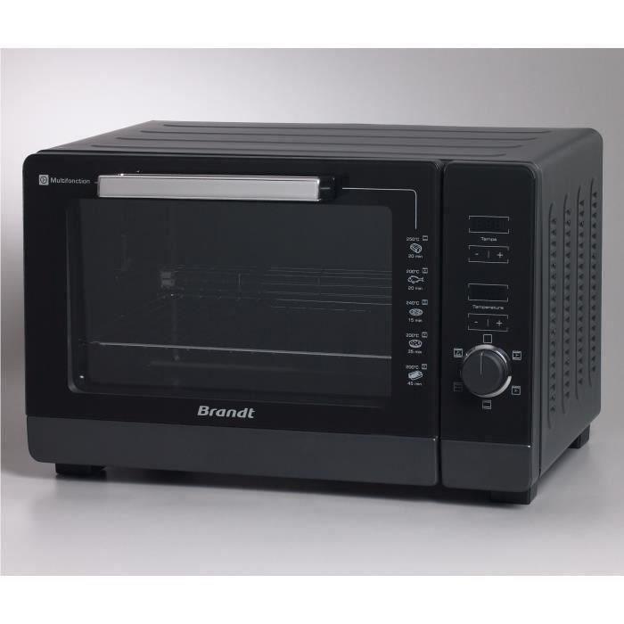 BRANDT FC405MHB Four Compact multifonction - 40L - 2100W - Noir - Pose libre