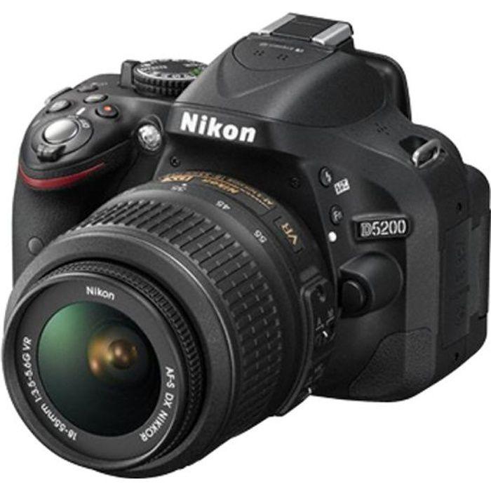 NIKON D5200 Reflex + Objectif 18-55 mm VR