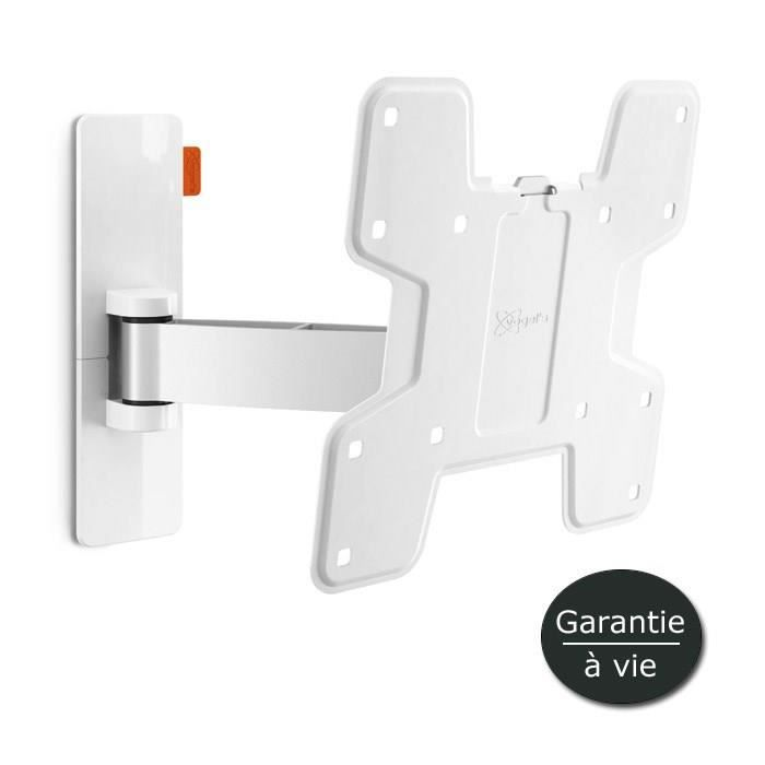 VOGEL'S WALL 2125 Support TV mural Orientable et Inclinable - TV de 19 à 37- - Blanc