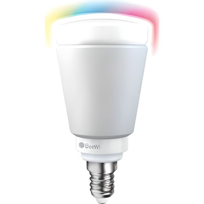 Beewi ampoule led de couleur e14 5w connect e bluetooth for Ampoule de couleur castorama
