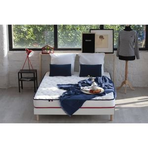ENSEMBLE LITERIE CONFORT DESIGN Ensemble FRENCHY Matelas + Sommier