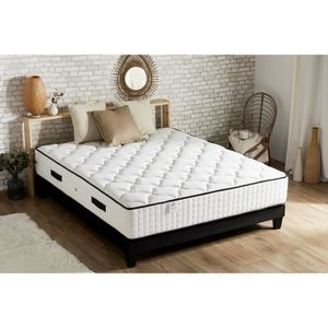 ENSEMBLE LITERIE CONFORT DESIGN Ensemble matelas + sommier 160x200