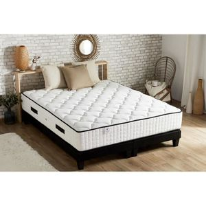 ENSEMBLE LITERIE CONFORT DESIGN Ensemble matelas + sommiers 180x200