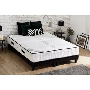 ENSEMBLE LITERIE CONFORT DESIGN Ensemble matelas + sommier 180x200
