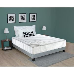 ENSEMBLE LITERIE CONFORT DESIGN Ensemble Royal Memo matelas + sommi