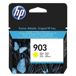 CARTOUCHE IMPRIMANTE HP 903 cartouche d'encre jaune authentique pour HP