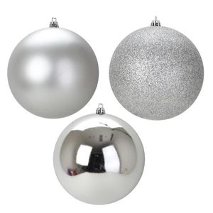 boule de noel argent achat vente pas cher. Black Bedroom Furniture Sets. Home Design Ideas