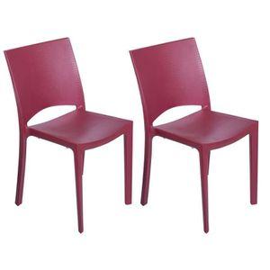 FAUTEUIL JARDIN  GREEN BOHEME lot de 2 chaises de jardin Cocco - En